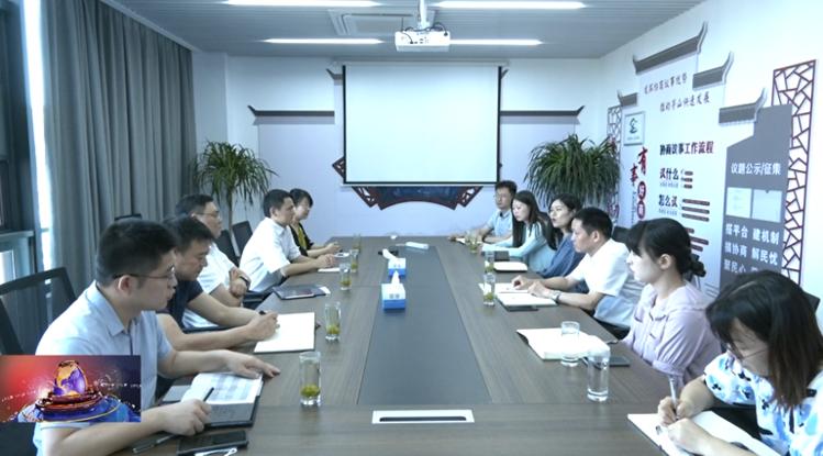金坛区领导走访清华大学博士生实践单位